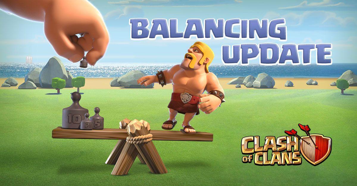Mudanças de Balanceamento no Clash of Clans - 26 de Junho de 2018