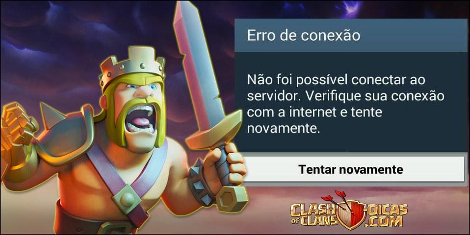 Clash of Clans não abre após a atualização