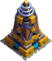 Megatesla - Base do Construtor do Clash of Clans