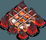 Acampamento Nível 9 - Clash of Clans