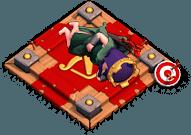 Altar Rainha Arqueira Dormindo - Clash of Clans