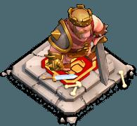 Altar Rei Bárbaro Clash of Clans