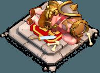 Altar Rei Bárbaro - Herói Descansando