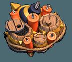 Armadilha Bomba Gigante Nível 5 - Clash of Clans