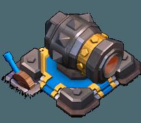 Canhão Nível 16 - Clash of Clans