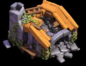 Casa do Construtor nível 1 - Clash of Clans Base do Construtor