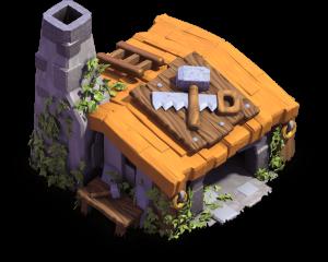 Casa do Construtor nível 2 - Clash of Clans Base do Construtor