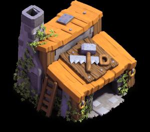 Casa do Construtor nível 3 - Clash of Clans Base do Construtor