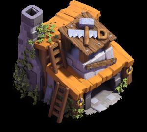 Casa do Construtor nível 4 - Clash of Clans Base do Construtor