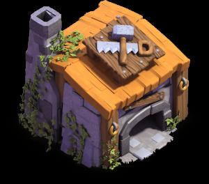 Casa do Construtor nível 6 - Clash of Clans Base do Construtor