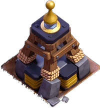 Megatesla nível 2 - Clash of Clans Base do Construtor