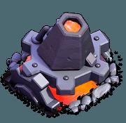 Lança-Lava nível 1 e 2 - Clash of Clans Base do Construtor