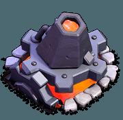 Lança-Lava nível 3 e 4 - Clash of Clans Base do Construtor