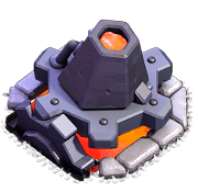 Lança-Lava nível 5 - Clash of Clans Base do Construtor