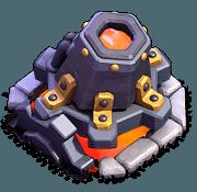 Lança-Lava nível 6 - Clash of Clans Base do Construtor