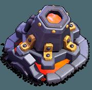 Lança-Lava nível 7 e 8 - Clash of Clans Base do Construtor