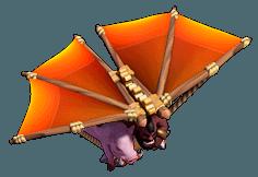 Voador nível 13 ao 18 - Clash of Clans