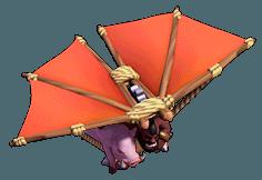 Voador nível 5 ao 8 - Clash of Clans
