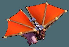 Voador nível 9 ao 12 - Clash of Clans