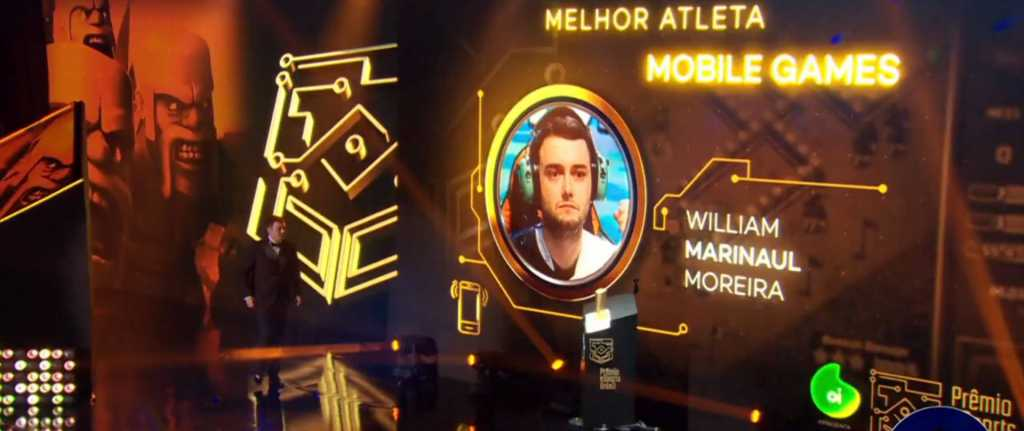 Marinaul, vence Categoria de Melhor Atleta de Mobile Games