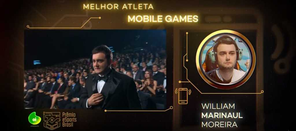 Marinaul - Melhor Atleta de Mobile Games