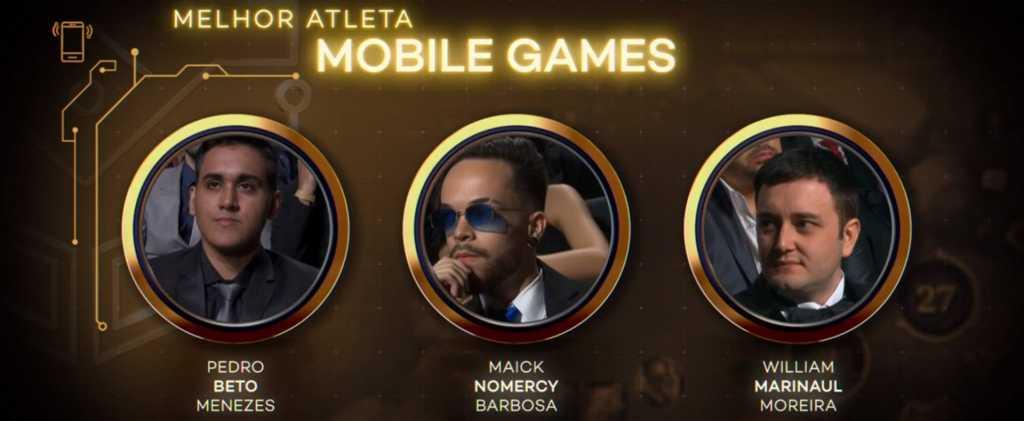 Marinaul vence Categoria de Melhor Atleta de Mobile Games