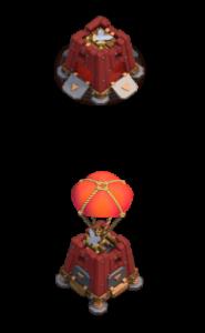 Quartel de Cerco nível 1 - Máquina de Cerco Clash of Clans