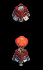 Quartel de Cerco nível 2 - Máquina de Cerco Clash of Clans