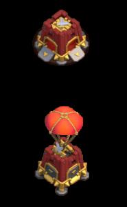 Quartel de Cerco nível 3 - Máquina de Cerco Clash of Clans