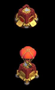 Quartel de Cerco nível 4 - Máquina de Cerco Clash of Clans