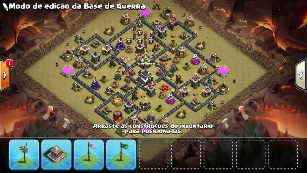 Layouts para CV9 de Guerra - Centro de Vila 9