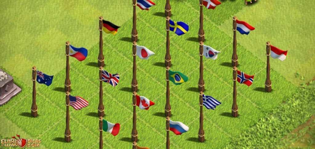 Bandeiras de Países: Darian revela por que não adicionam novas ao jogo
