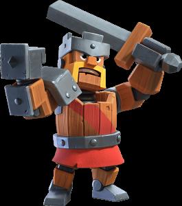 Skin Rei Bárbaro - Rei Mecânico