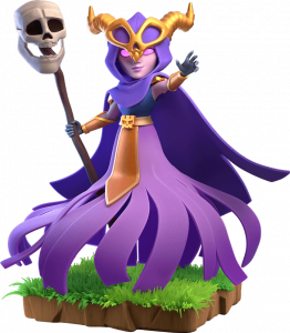Super Bruxa do Clash of Clans