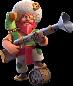 Skin Grande Guardião - Guardião Pirata