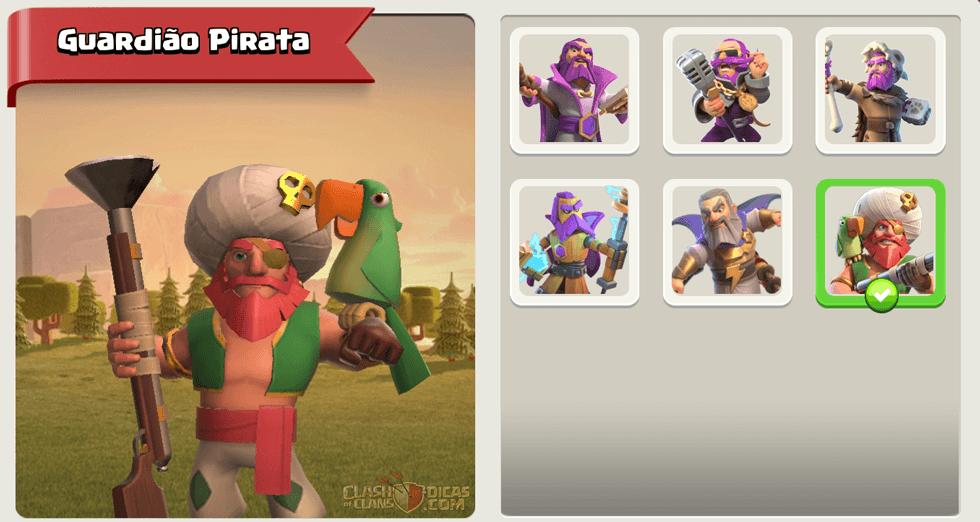 Nova Skin: Guardião Pirata