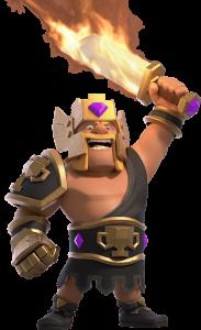 Skin Rei Bárbaro - Rei Campeão