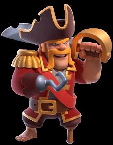 Skin Rei Bárbaro - Rei Pirata