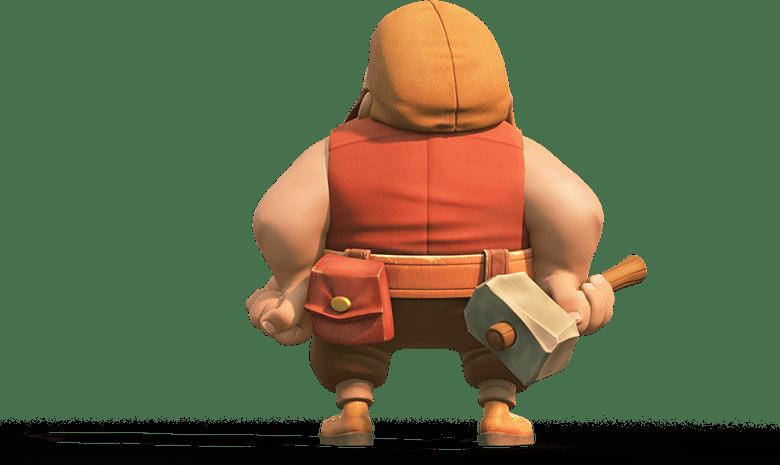Construtor Clash of Clans 3D Builder render