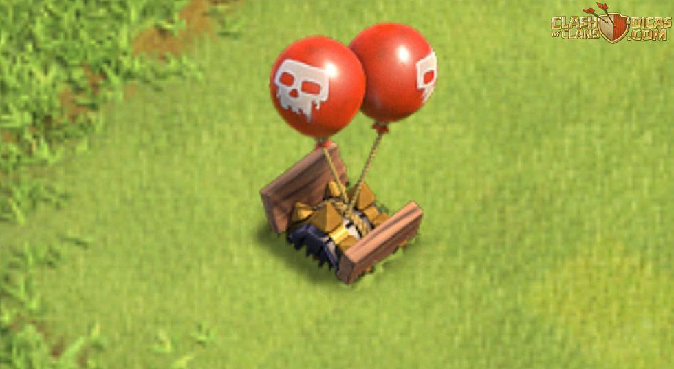 Bomba Aérea nível 8