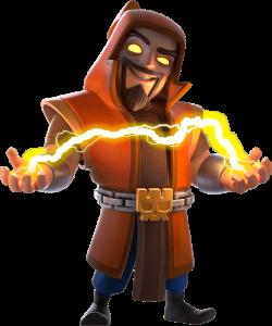 Supermago Clash of Clans Super Wizard