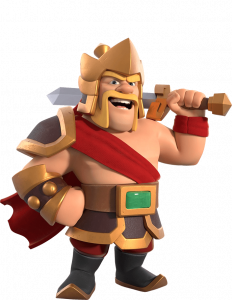 Skin Rei Bárbaro - Rei Guerreiro